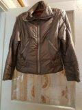 Коричневая куртка. Фото 1.