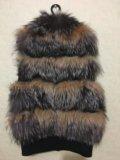 Натуральная меховая жилетка. Фото 2.