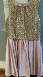 Платье для девочки 12-13 лет. Фото 1.