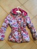 Куртка, кофточки на девочку 4-6 лет. Фото 2.