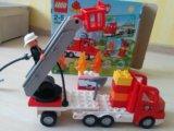 Лего пожарная машина. Фото 1.