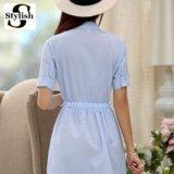 Платье голубого цвета. Фото 3.