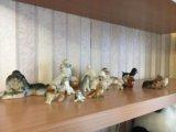 Коллекция фарфоровых собак. Фото 4.