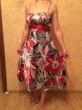 Легкое летнее платье. Фото 1.