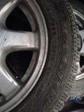 Колеса( диски с шинами) зима. Фото 3.