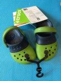 Продаю сандали новые crocs, размер с5. Фото 1.