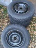 Колеса r13 зима,шипы. Фото 4.
