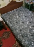 Кровать двух спальная. Фото 1.