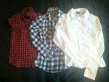Красная рубашка. Фото 1.