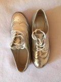Металлизированные туфли. Фото 2.