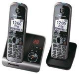 Радиотелефон dect panasonic kx-tg6722ru. Фото 2.