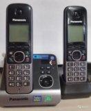 Радиотелефон dect panasonic kx-tg6722ru. Фото 1.