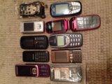 Мобилки на запчасти. Фото 2.