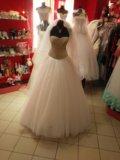 Свадебное платье кристалл. Фото 3.