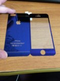 Стекло защитное (обе стороны) на айфон 5/5s/se. Фото 1.