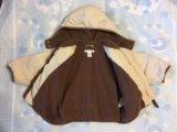 Куртка h&m 74 размер. Фото 1.
