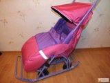 Продаю санки-коляска. Фото 1.