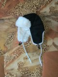 Зимняя шапка ушанка. Фото 3.
