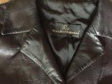 Женское, итальянское пальто из натуральной кожи. Фото 3.