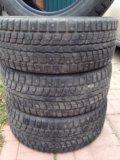 Резина зимняя шипованные dunlop 225/55 r18. Фото 2.