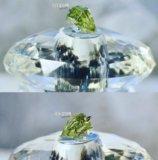 Кулон кристалл с кипарисом. Фото 1.