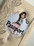 Блокнот и обложка на паспорт. Фото 3.