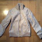 Куртка кожзам xs. Фото 1.