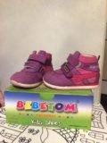 Ботинки (кроссовки) 20 размер на осень или весну. Фото 1.