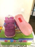 Ботинки (кроссовки) 20 размер на осень или весну. Фото 2.