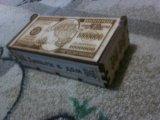 Сувенир, шкатулка для денег, деревянная. Фото 2.