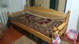 Деревянный тапчан. Фото 3.