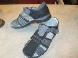 Туфли открытые школьные новые. Фото 1.