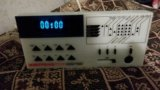 Радио с часами электроника пт-210. Фото 1.