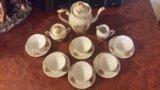 Кофейный сервиз 15 предметов польша. Фото 4.