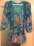 Блузка  пр- во турция новая. Фото 1.