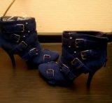 Ботинки новые, р-р 38. Фото 1.