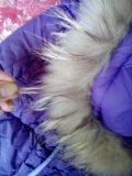 Пальто пуховик. Фото 1.