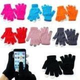 Перчатки для сенсорных экранов. Фото 2.