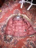 Пуховик baon,отделка натуральный мех. Фото 4.