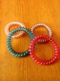 Разоцветные браслеты . Фото 1.