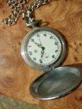Часы карманные ссср. Фото 1.