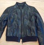 Куртка, натуральная кожа. la reine blanche. Фото 1.