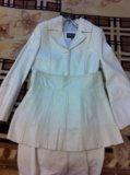 Кожаный плащ и юбка м. Фото 2.