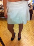 Кожаный плащ и юбка м. Фото 3.