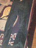 Штаны спортивные бархатные. Фото 1.