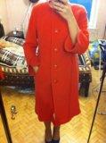 Длинное пальто 48-50р. Фото 1.