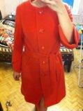Длинное пальто 48-50р. Фото 2.