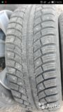 Gislaved nord frost 5 195/55 r15 + диски lacetti. Фото 1.