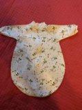 Спальные костюмы, мешки на малыша 0-3 мес. Фото 2.