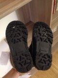 Новые детские зимние ботинки. Фото 1.